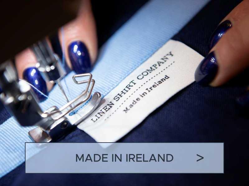 irish linen shirts made in ireland