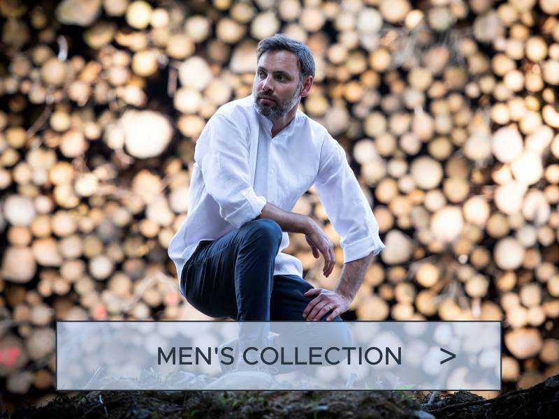 mens fashion linen shirts - made in ireland